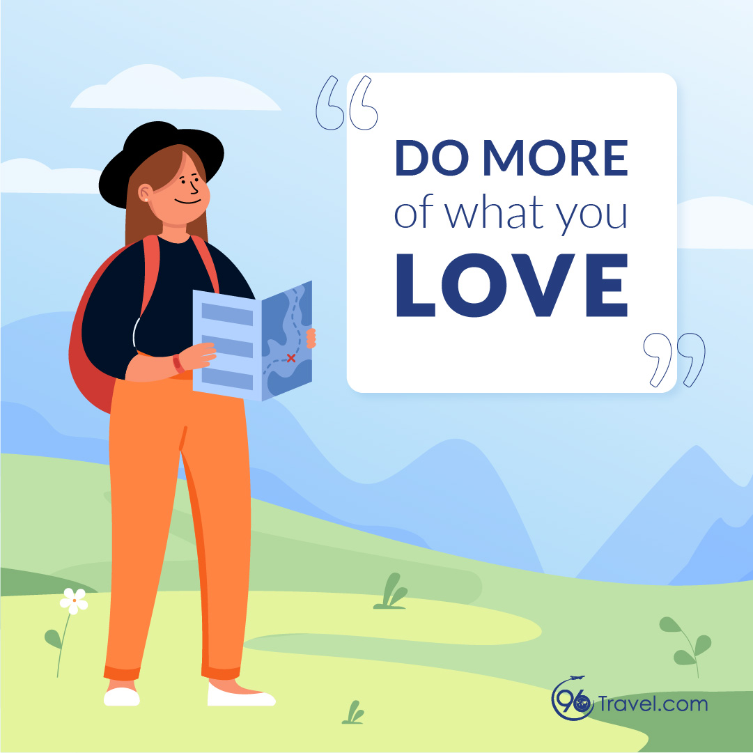Do More What You Love 做自己喜欢的事